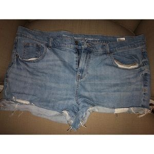 Old Navy size 16 jean shorts